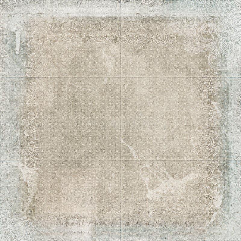 старое бумажное затрапезное стоковое изображение