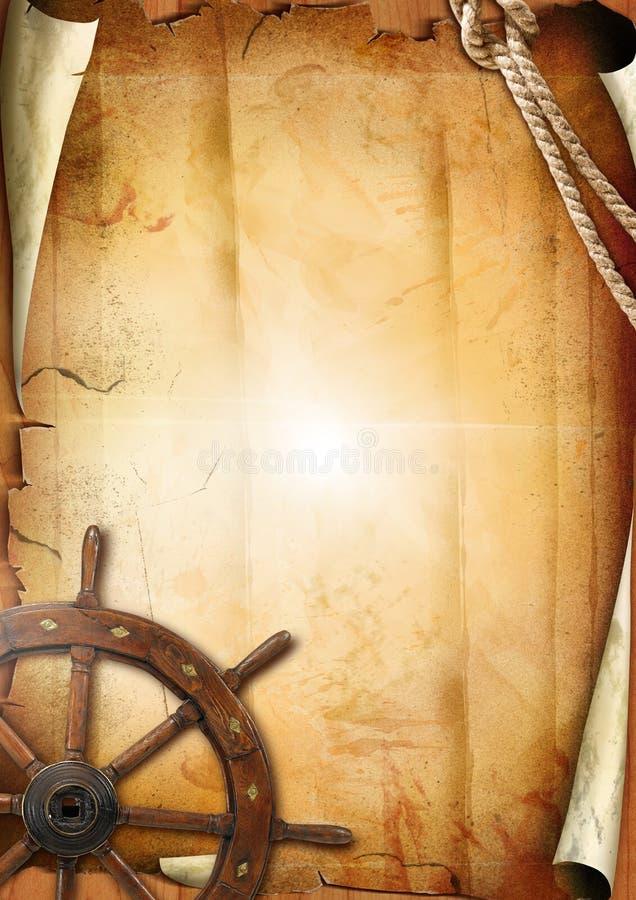 старое бумажное колесо текстуры управления рулем бесплатная иллюстрация