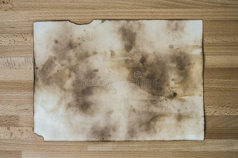 Старое бумажное фото текстуры стоковое изображение rf