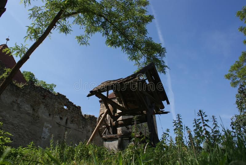 старое добро Arcus Covasna Трансильвания Румыния стоковые фото