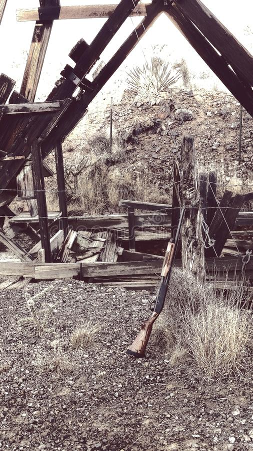 Старое западное стоковые фотографии rf