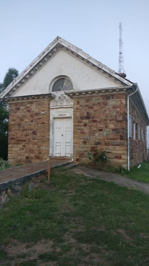 Старое здание библиотеки стоковая фотография rf