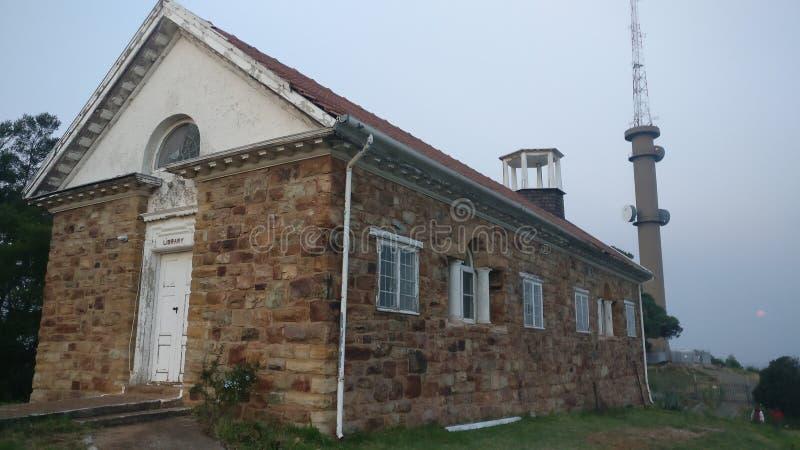 Старое здание библиотеки стоковые фото