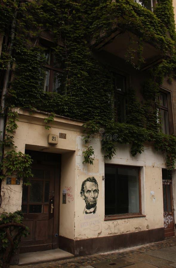 Старое здание в Берлине стоковая фотография