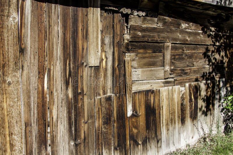 Старое здание в Virginia City, Монтане стоковая фотография