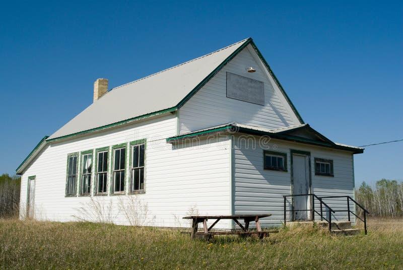 старое здание школы стоковое фото