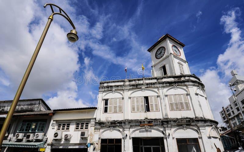 Старое здание в Пхукете стоковая фотография