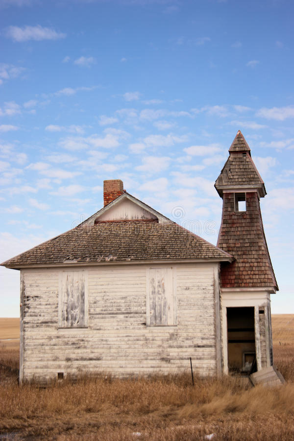 Старое здание школы стоковая фотография