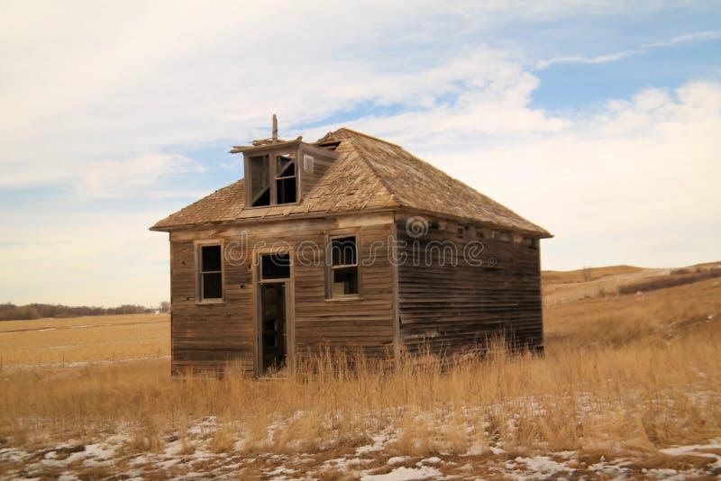 Старое здание школы стоковое фото rf
