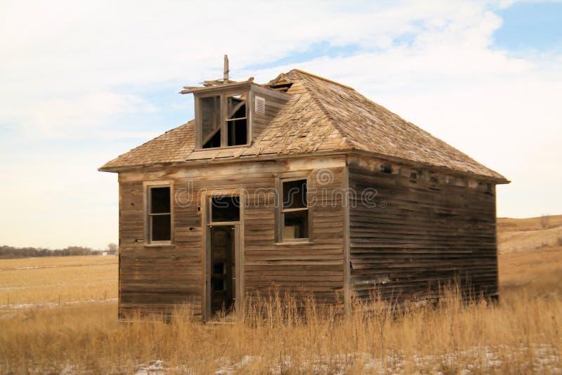 Старое здание школы стоковые фотографии rf