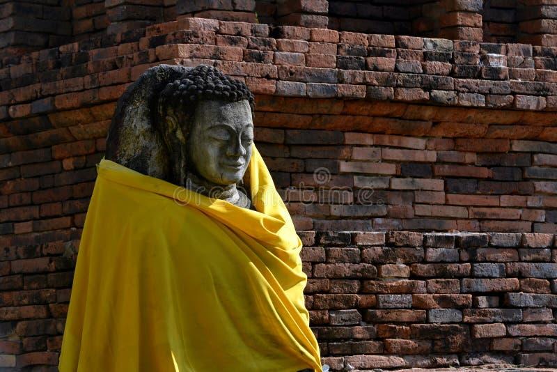 Старое изображение Будды стоковая фотография rf