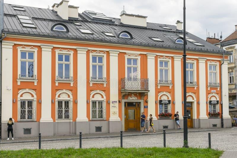 Старое, историческое здание стоковое изображение