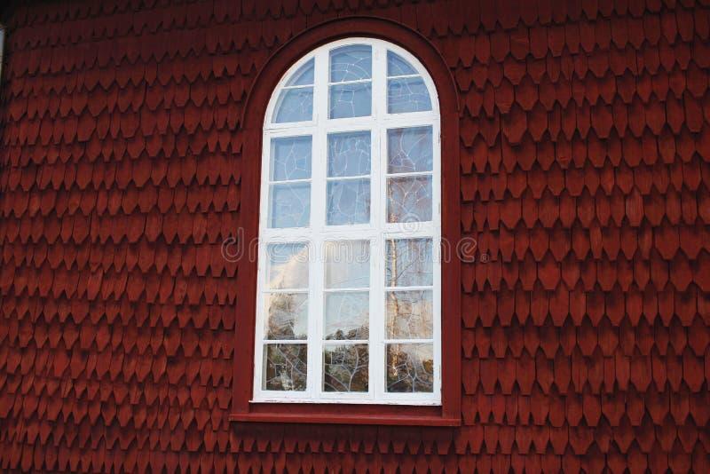 Старое красивое окно стоковые фотографии rf