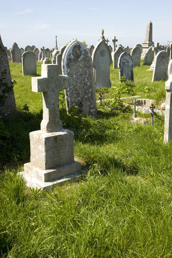 Старое кладбище стоковые изображения