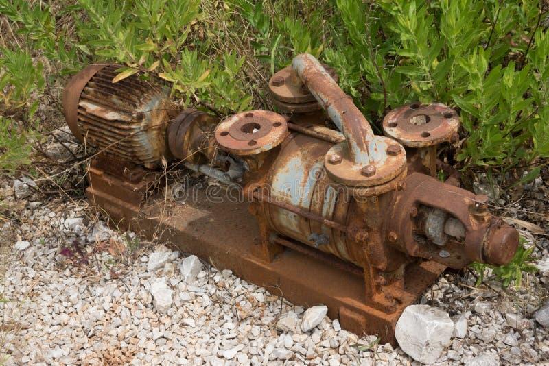 Старое машинное оборудование стоковое изображение