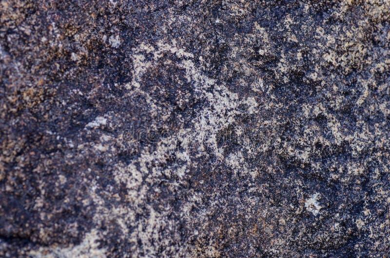 Старое место с историческими петроглифами в Кыргызстане стоковое изображение rf