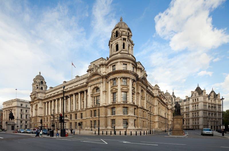 Старое офисное здание войны, Whitehall, Лондон, Великобритания стоковое фото