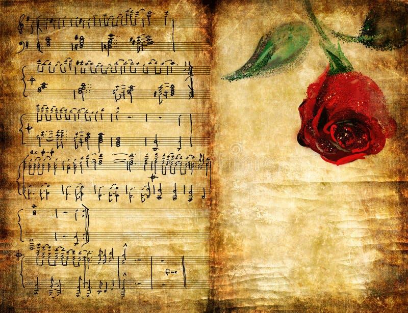 старое романс стоковое изображение