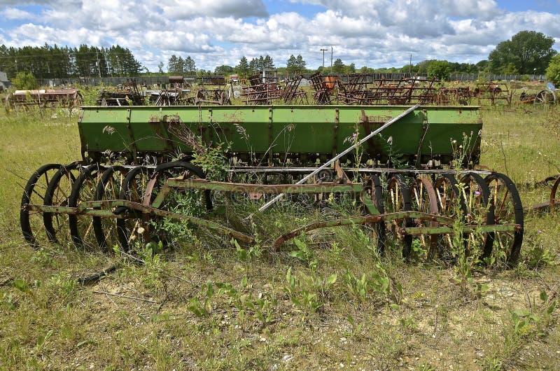 Старое сверло семени зерна стоковое изображение rf