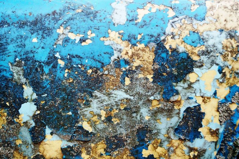 старое шелушение краски Предпосылка космоса стоковая фотография