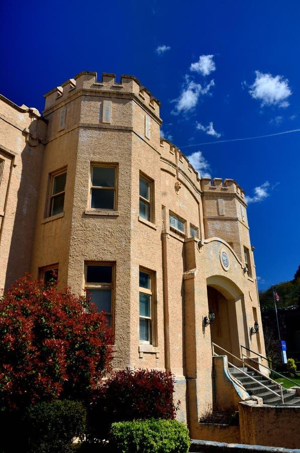 Старое Amory, городское Roseburg, Douglas County, Орегон стоковая фотография