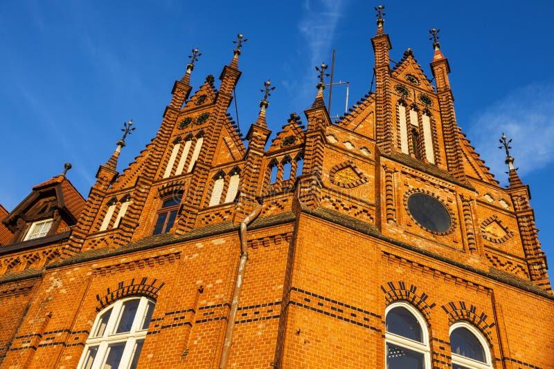 Старое architecutre Bydgoszcz стоковое фото rf