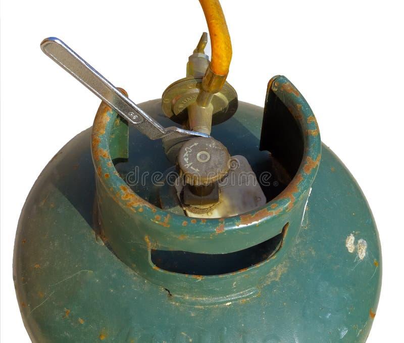 Старое bombola газа стоковые фото