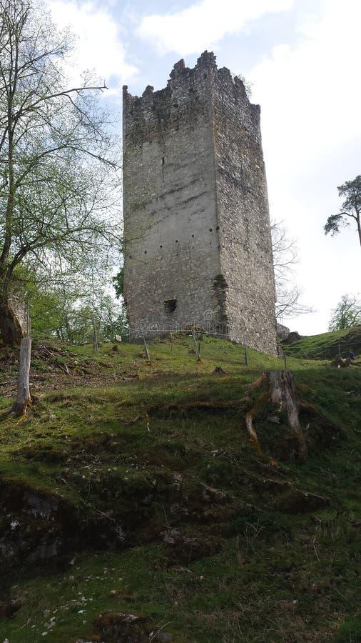 Старое Castletower стоковые фотографии rf