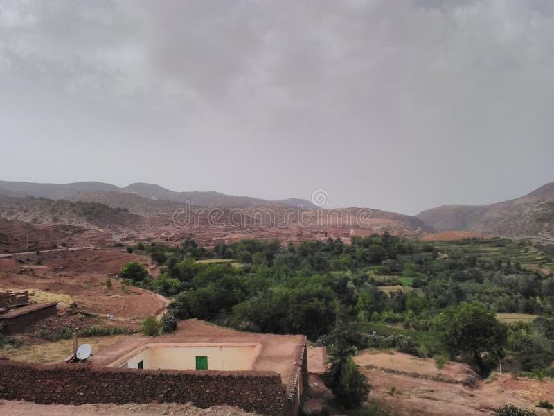Старое Civilazation в горах Atlass стоковая фотография