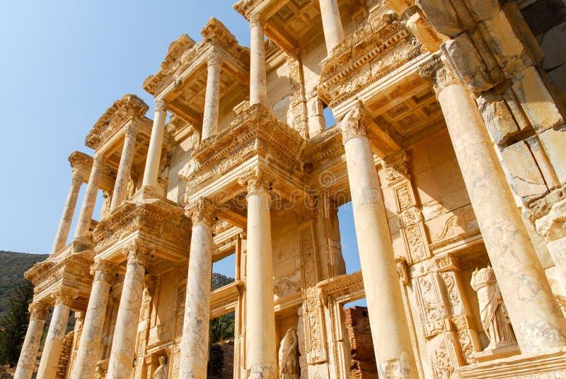 Старое Ephesus, Турция стоковое изображение rf