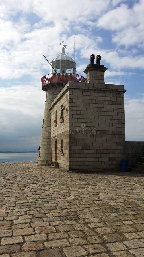 Старое howth маяка стоковые изображения rf