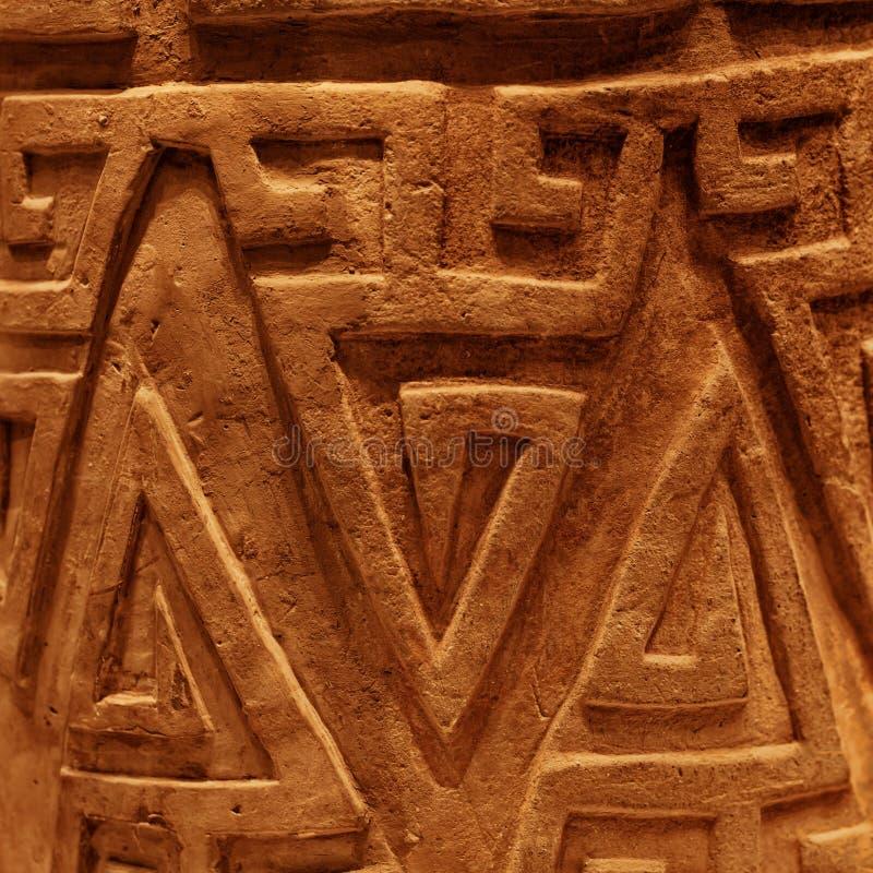 Старой китайской декоративной предпосылка текстурированная картиной стоковая фотография