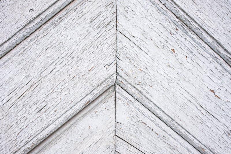 Старой доски покрашенные белизной раскосные стоковые изображения rf
