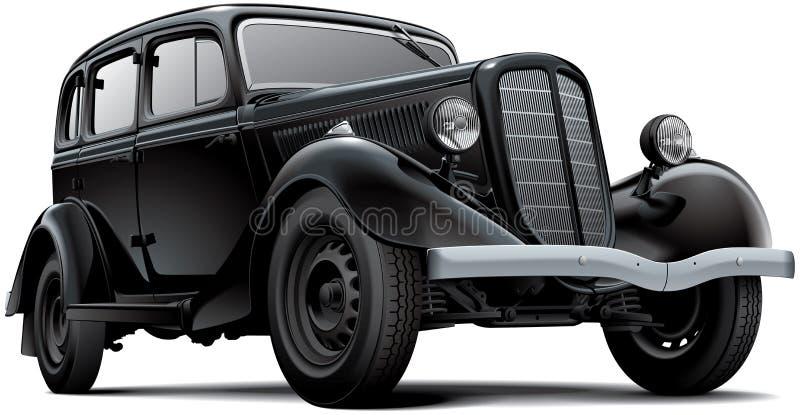 Старомодный советский автомобиль бесплатная иллюстрация