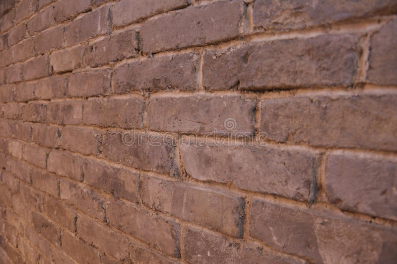 стародедовская кирпичная стена стоковое фото rf