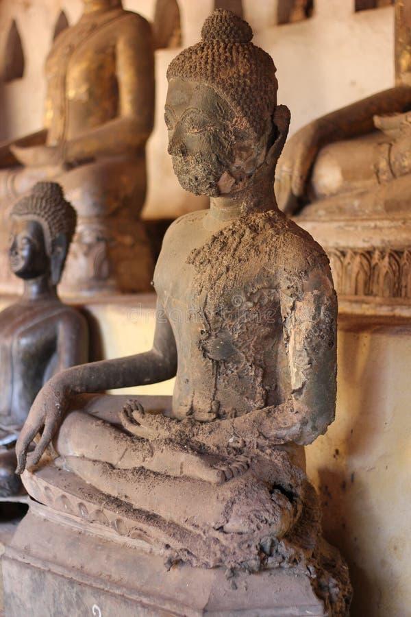 стародедовская статуя Будды стоковая фотография
