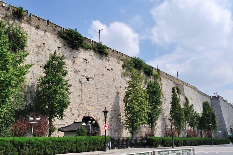 стародедовская стена города стоковое изображение