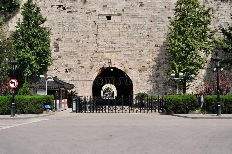 стародедовская стена города стоковая фотография