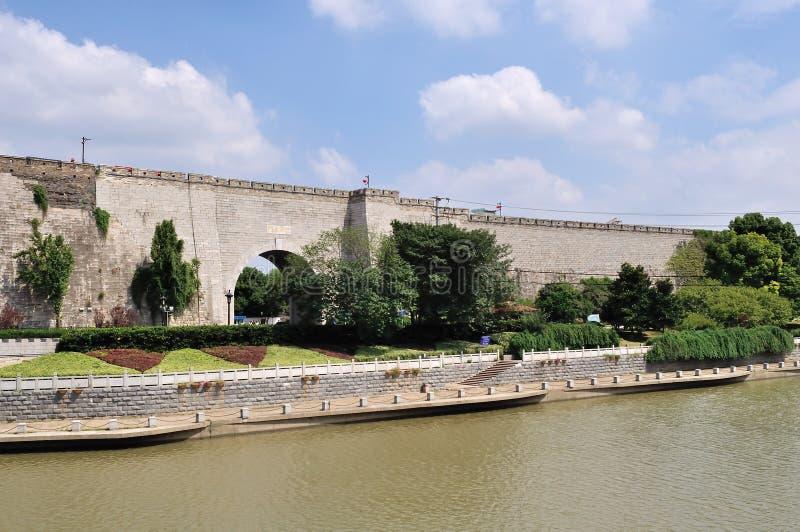 стародедовская стена города стоковое фото rf