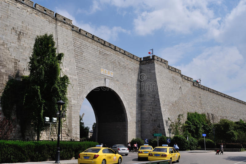 стародедовская стена города стоковые изображения rf