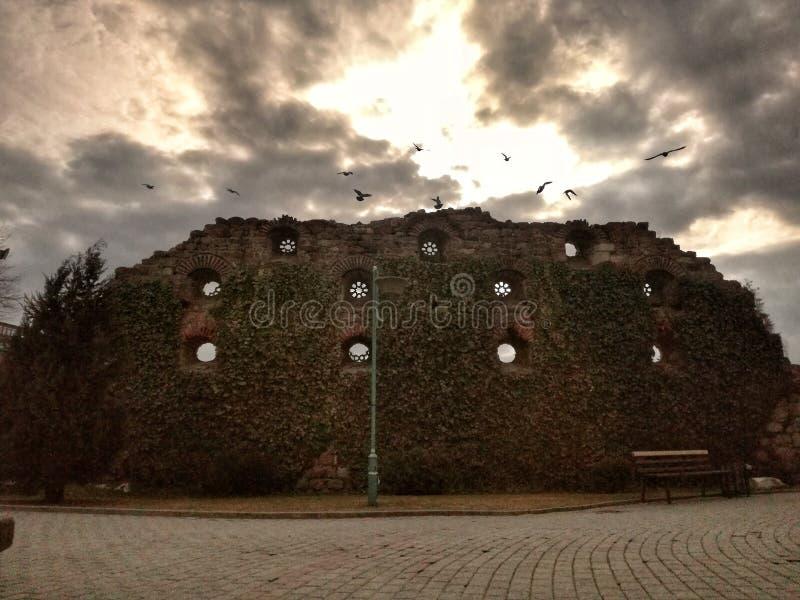 стародедовская тюрьма стоковое фото