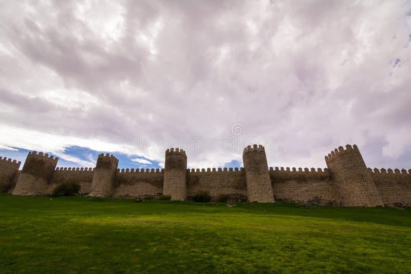 стародедовские крепостные стены стоковые изображения