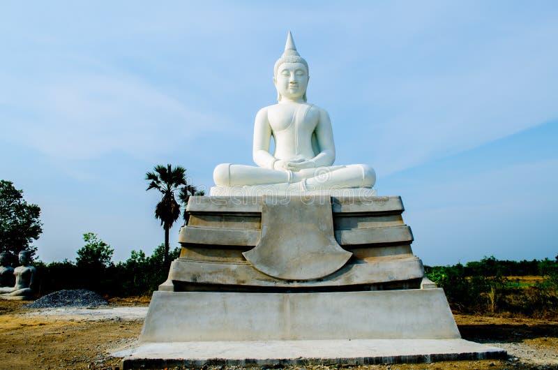 Стародедовские статуи Будды стоковая фотография rf