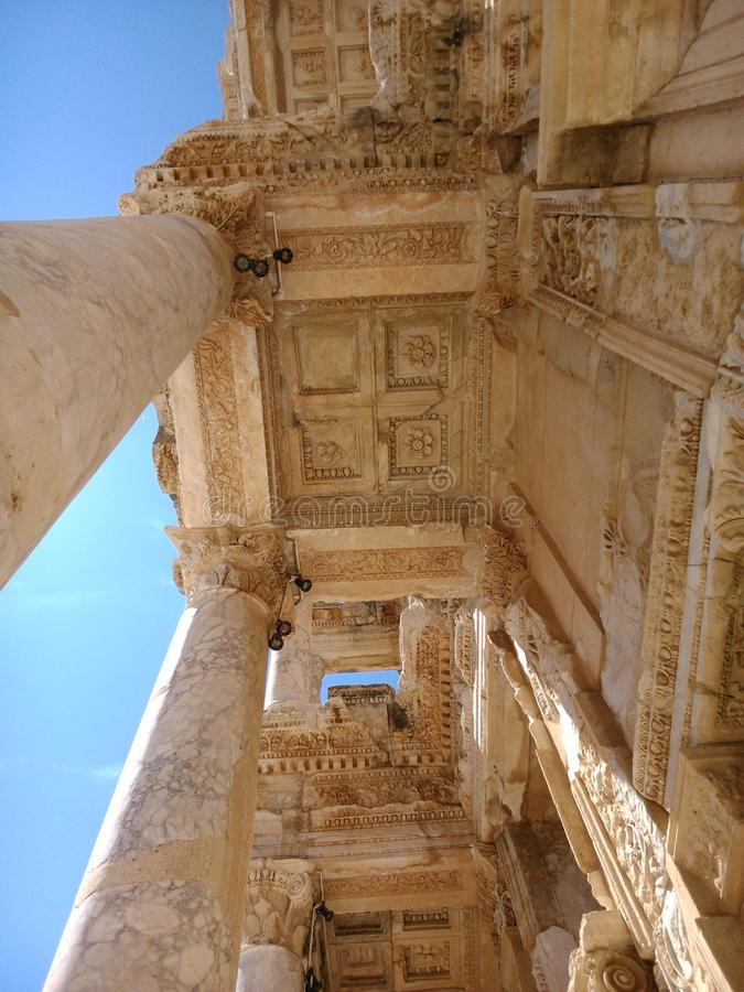 стародедовский грек зодчества стоковое фото rf