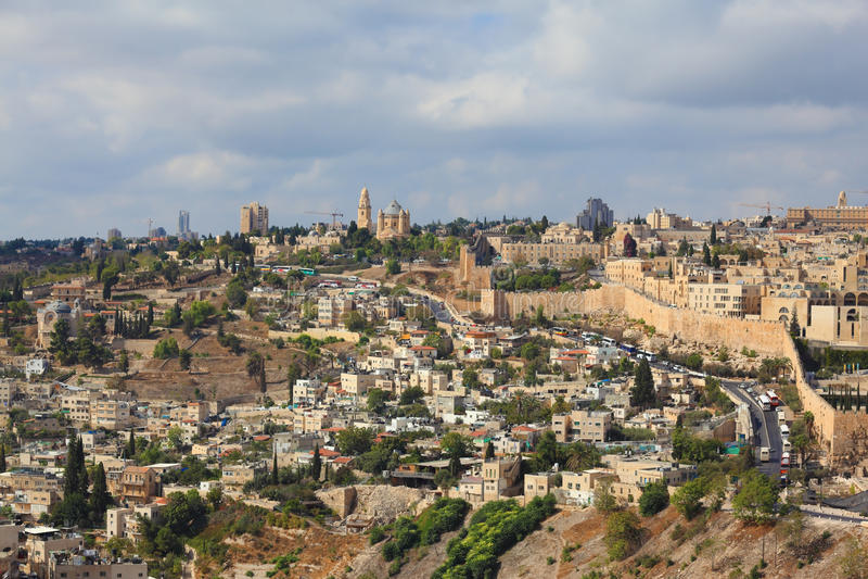 стародедовский Иерусалим стоковые изображения rf