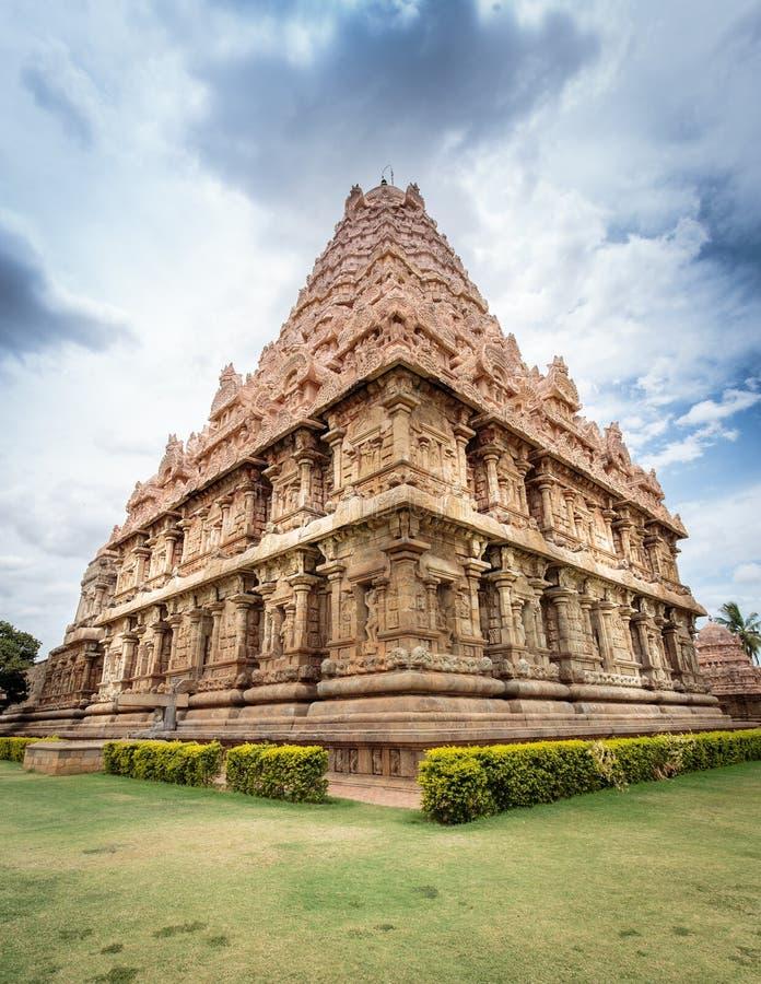 стародедовский индусский висок Индии стоковое изображение rf