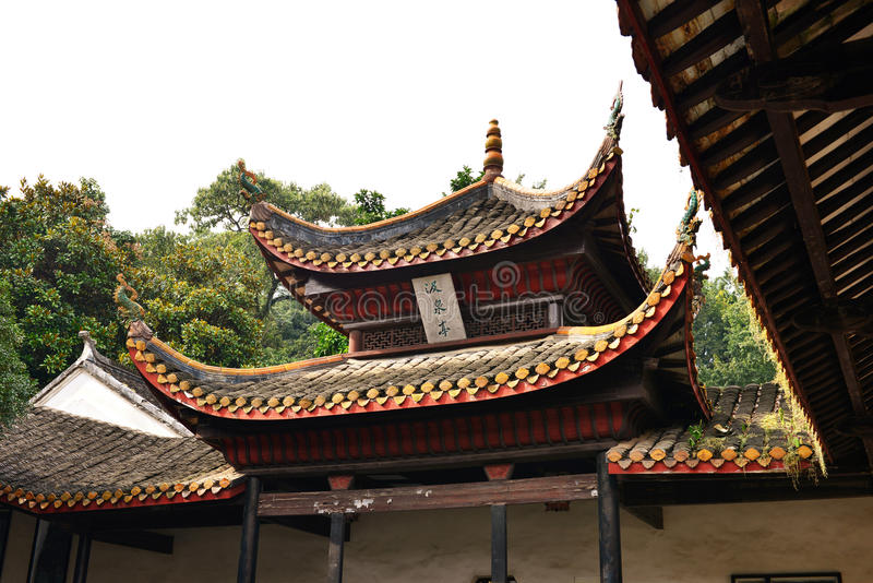 стародедовский китайский сад стоковое фото
