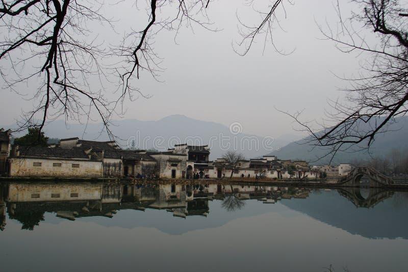 стародедовское китайское село стоковые фото
