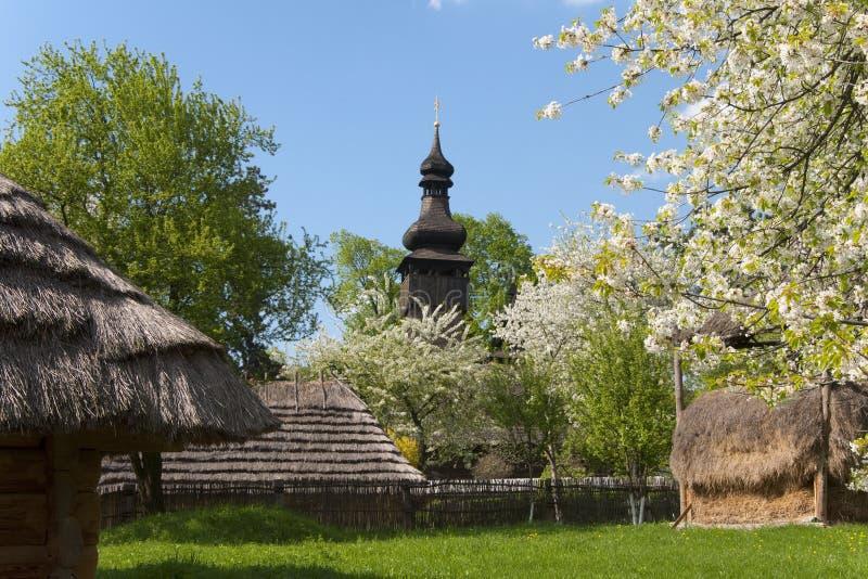 стародедовское село Весна стоковая фотография rf