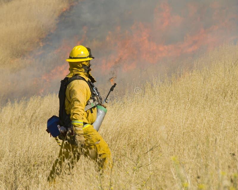 стартер пожара стоковое изображение